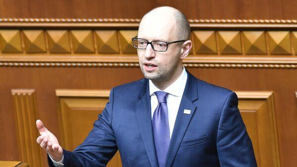 Były premier Ukrainy Arsenij Jaceniuk - Sputnik Polska