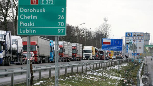 Przejście graniczne polsko-ukraińskie - Sputnik Polska