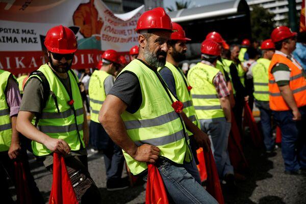 Międzynarodowy Dzień Solidarności Ludzi Pracy - Sputnik Polska