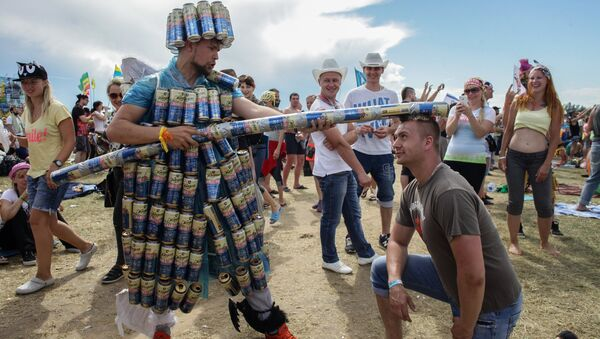 Festiwal muzyczny w Rosji Nashestvie - Sputnik Polska