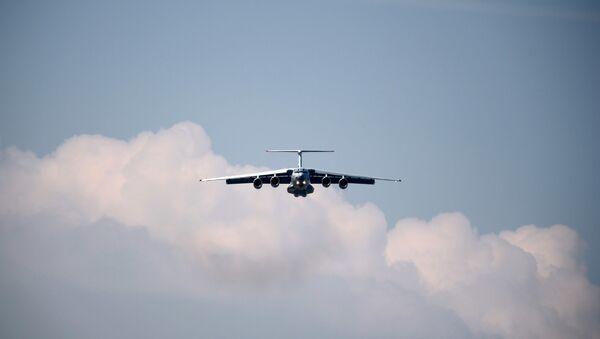 Samolot Ił-76MD-90A - Sputnik Polska