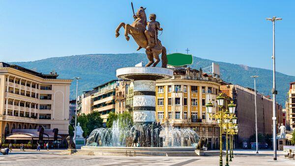 Skopje, stolica Macedonii - Sputnik Polska