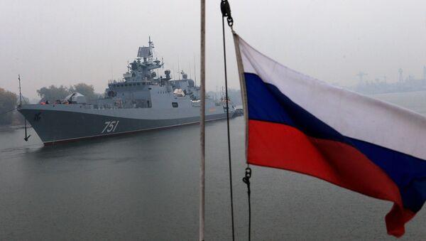 "Fregata ""Admirał Essen"" - Sputnik Polska"