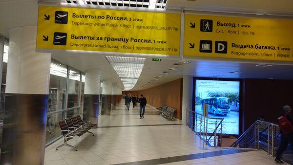 Lotnisko Szeremietiewo w Moskwie - Sputnik Polska
