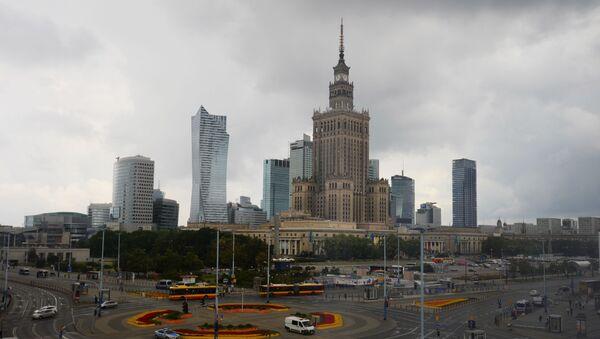Pałac Kultury i Nauki na Placu Defilad w Warszawie - Sputnik Polska