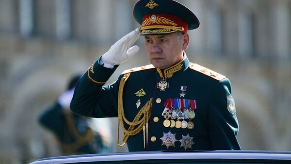 Minister obrony Federacji Rosyjskiej Siergiej Szojgu - Sputnik Polska