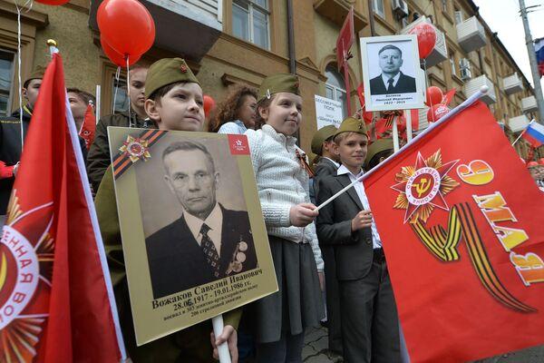Cały świat świętuje Dzień Zwycięstwa - Sputnik Polska