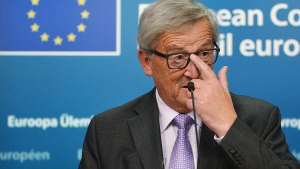 Przewodniczący Komisji Europejskiej Jean-Claude Juncker - Sputnik Polska