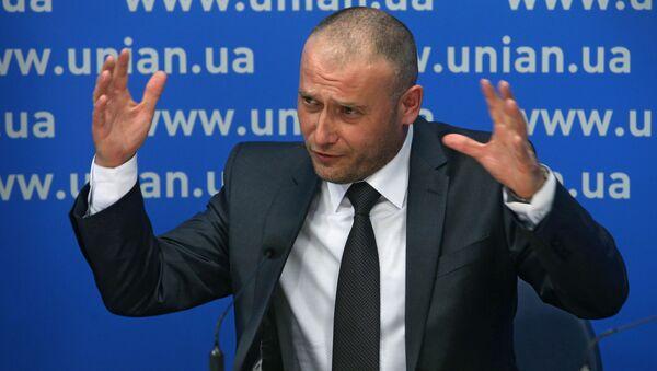 Lider Prawego Sektora Dmytro Jarosz. Zdjęcie archiwalne - Sputnik Polska