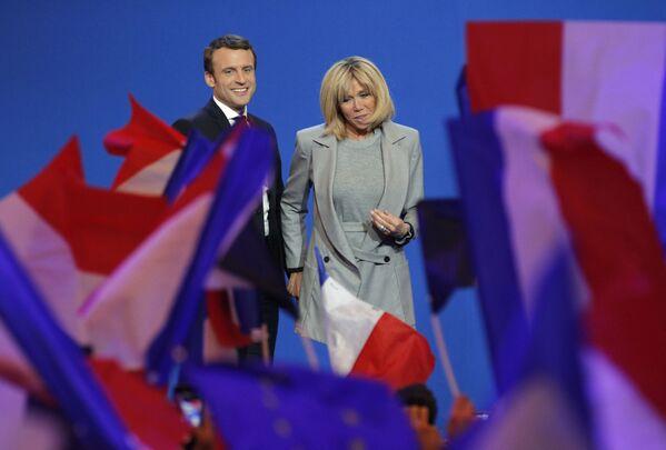 Brigitte Macron - Sputnik Polska