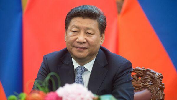 Przewodniczący Chińskiej Republiki Ludowej Xi Jinping - Sputnik Polska