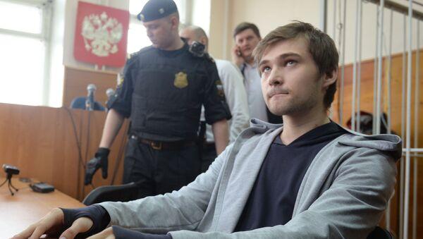 Posiedzenie sądu w sprawie blogera Rusłana Sokołowskiego w Jekaterynburgu - Sputnik Polska