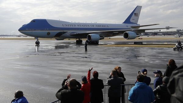 Samolot Boeing-747 prezydenta USA Donalda Trumpa Air Force One - Sputnik Polska