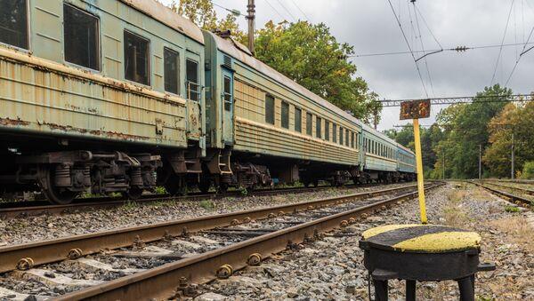 Ukraiński pociąg - Sputnik Polska