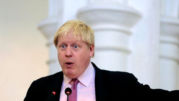 Brytyjski minister spraw zagranicznych Boris Johnson - Sputnik Polska