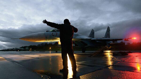 Rosyjski myśliwiec Su -27 - Sputnik Polska