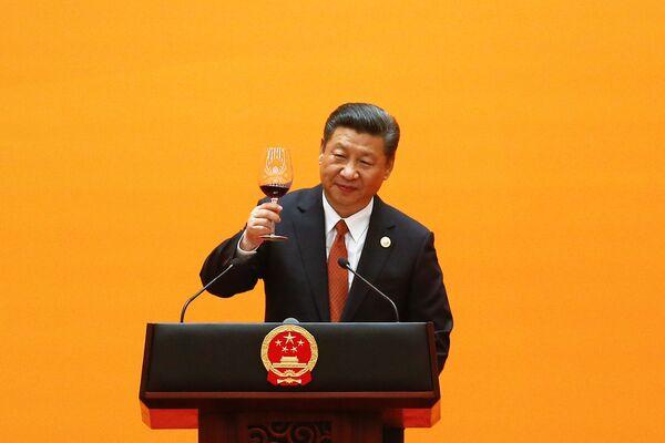 Sztuka Gościnności: Chiny przywitały światowych liderów podczas uroczystej kolacji Jeden pas, jedna droga - Sputnik Polska