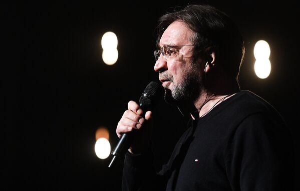 Jurij Szewczuk, lider rosyjskiego zespołu rockowego DDT - Sputnik Polska