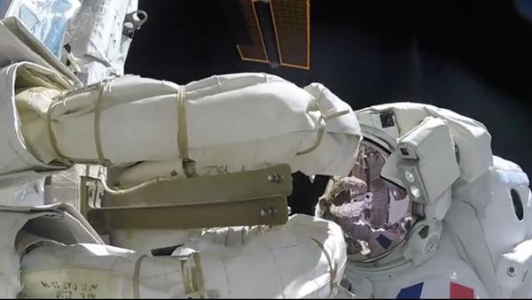 Astronauta nagrał niesamowity film z kosmosu - Sputnik Polska