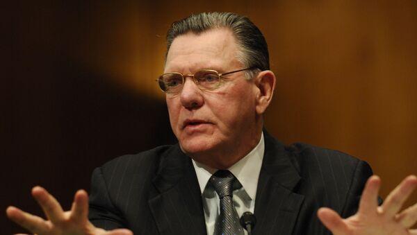 Emerytowany generał USA Jack Keane w Waszyngtonie - Sputnik Polska