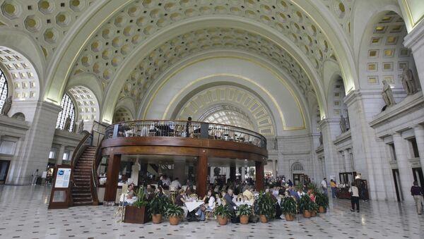 Dworzec Union Station w Waszyngtonie - Sputnik Polska