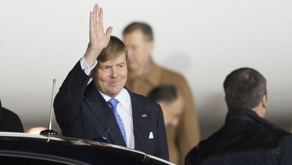 Król Holandii Wilhelm Aleksander - Sputnik Polska