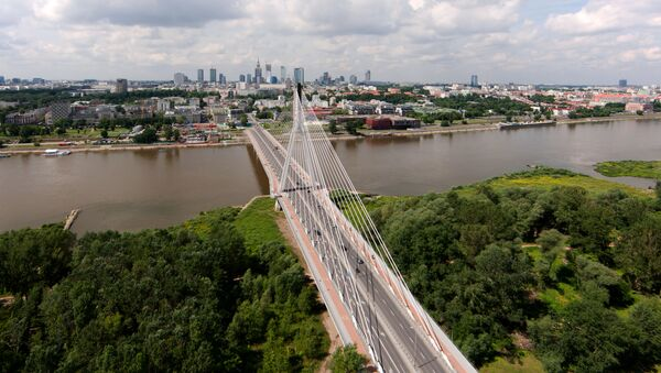 Widok na Most Świętokrzyski - Sputnik Polska