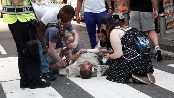 Street racing w Nowym Jorku: są ofiary - Sputnik Polska