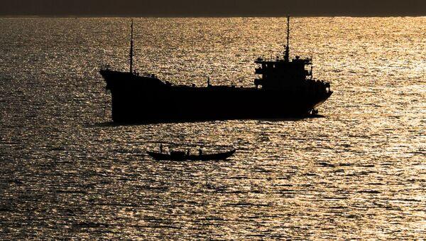 Statek na Morzu Południowochińskim - Sputnik Polska