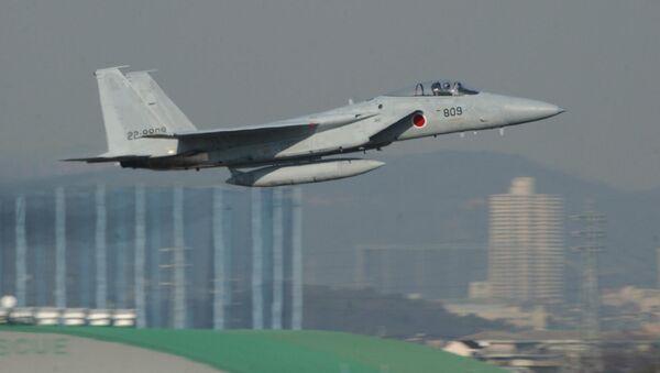Japoński myśliwiec F-15 - Sputnik Polska