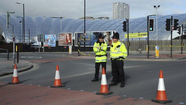 Policja w Manchesterze - Sputnik Polska