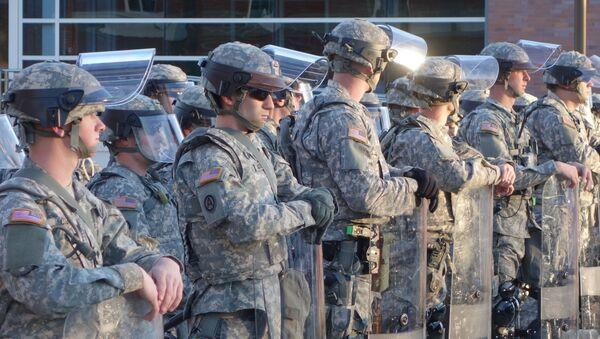 Żołnierze Gwardii Narodowej USA - Sputnik Polska