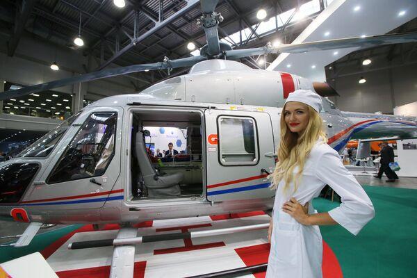 Najważniejsze wydarzenia na targach helikopterowych HeliRussia 2017 - Sputnik Polska