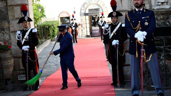 Przygotowania do szczytu G7 we Włoszech - Sputnik Polska
