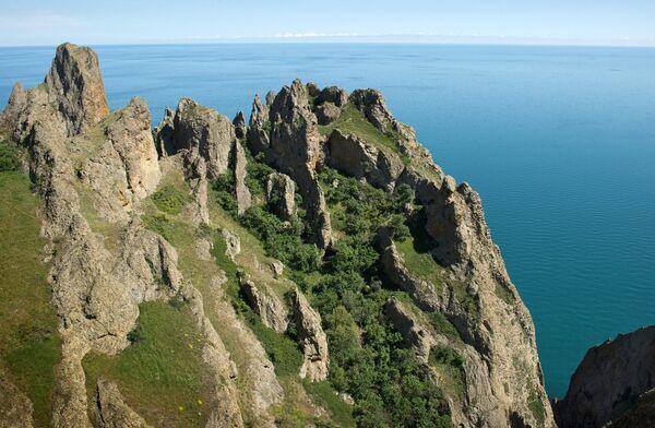 Krymska bajka: rezerwat przyrody Karadag - Sputnik Polska