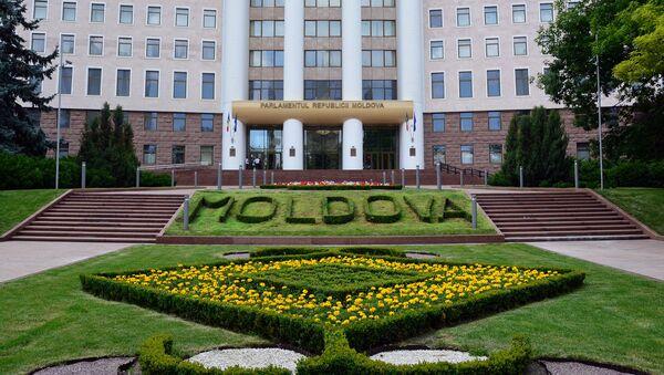 Siedziba mołdawskiego parlamentu w Kiszyniowie - Sputnik Polska