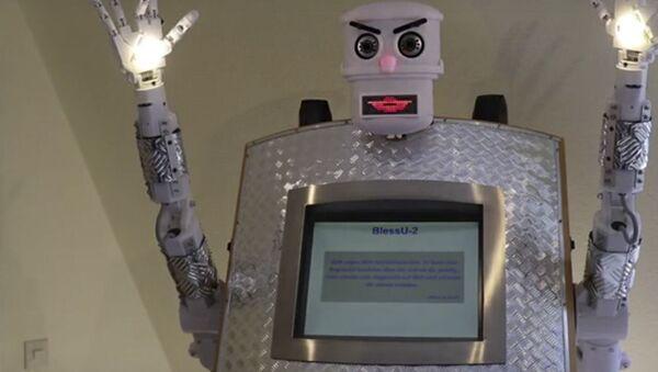 Robot ksiądz BlessU-2 - Sputnik Polska