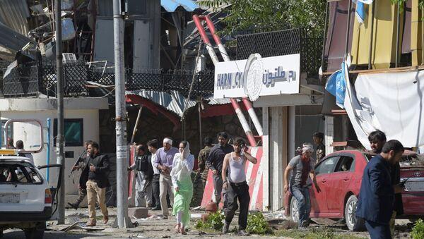 Место взрыва в Кабуле - Sputnik Polska