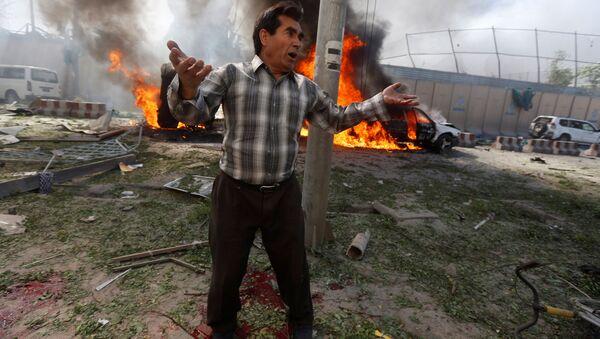 Miejsce wybuchu w Kabulu - Sputnik Polska
