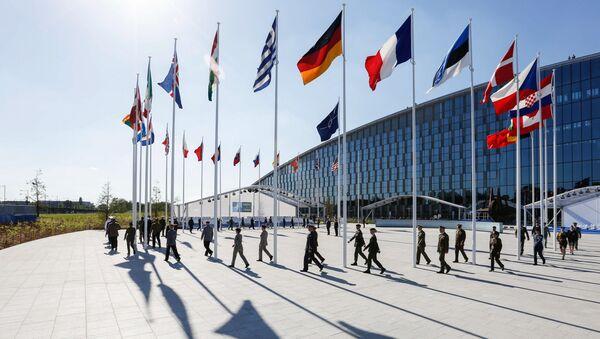Flagi krajów członkowskich NATO - Sputnik Polska