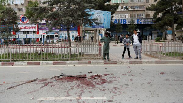 Wybuch w pobliżu ambasady USA w Kabulu - Sputnik Polska