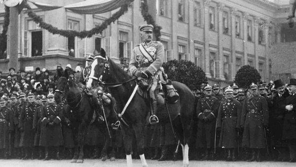 Józef Piłsudski, Naczelnik Państwa, 05.11.1927, Warszawa - Sputnik Polska