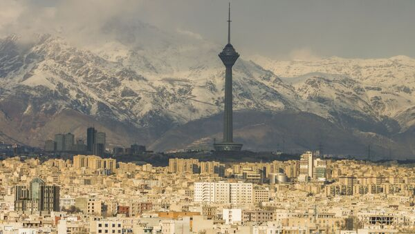 Panorama Teheranu, Iran - Sputnik Polska