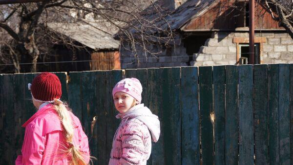 Miasto Stachanow w ŁRL, które znalazło się pod ostrzałem ukraińskich żołnierzy - Sputnik Polska