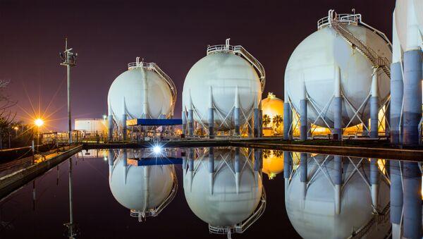 Magazyny gazu ziemnego - Sputnik Polska