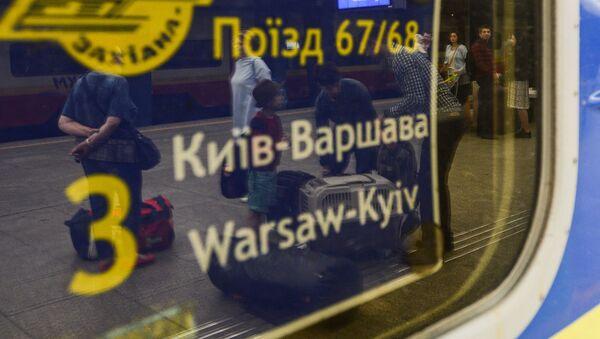 Pociąg Kijów-Warszawa - Sputnik Polska