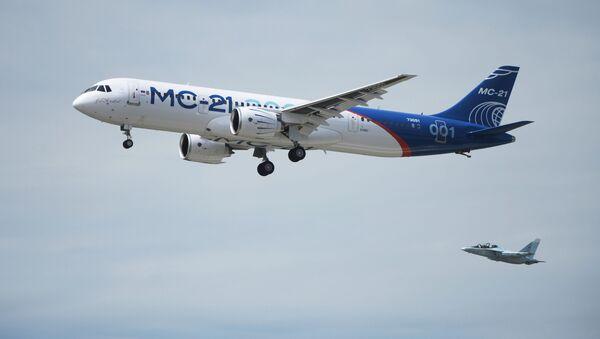Rosyjski samolot pasażerski MS-21 - Sputnik Polska