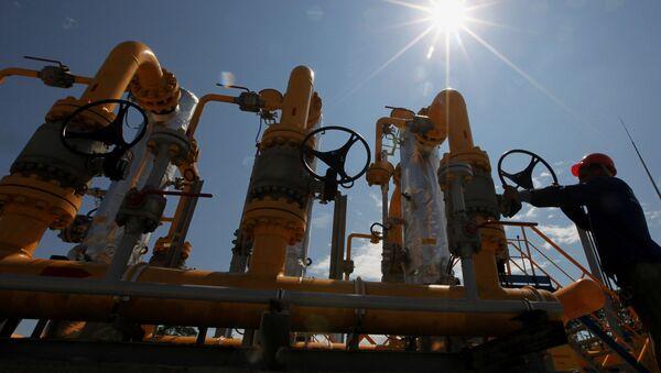 Stacja dystrybucji gazu spółki Gazprom - Sputnik Polska