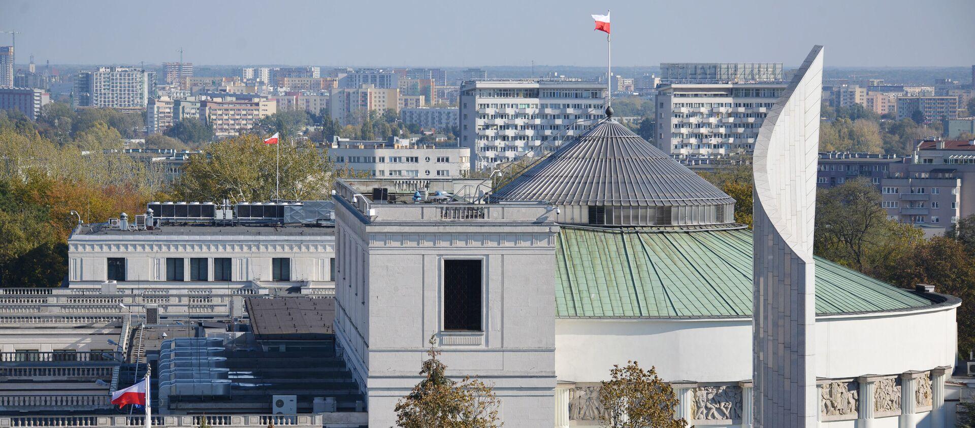 Budynek Sejmu RP w Warszawie - Sputnik Polska, 1920, 07.08.2020