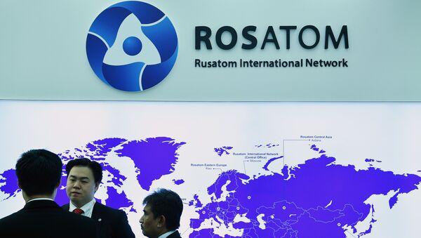 Stoisko Rosatomu na Atomexpo w Moskwie - Sputnik Polska